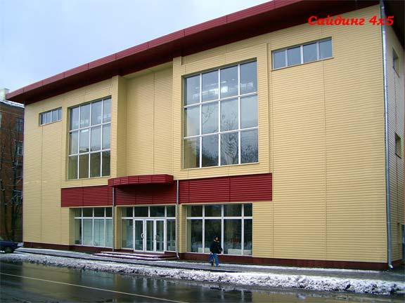 Фасад отделанный сайдингом